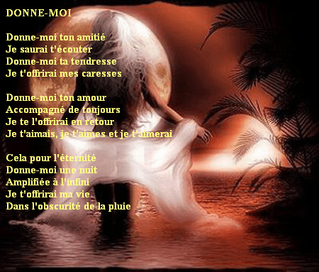 texte f amour