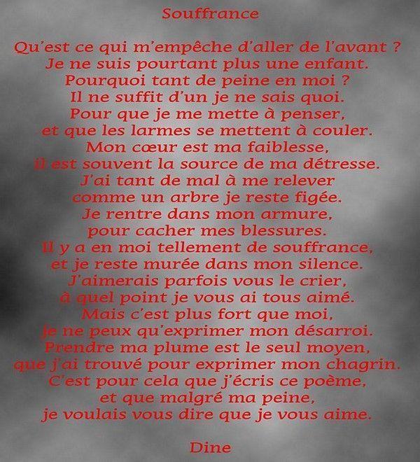 Texte Damour